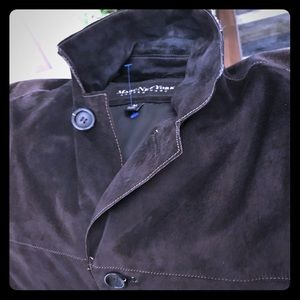 Marc New York Andrew Marc suede jacket/shirt